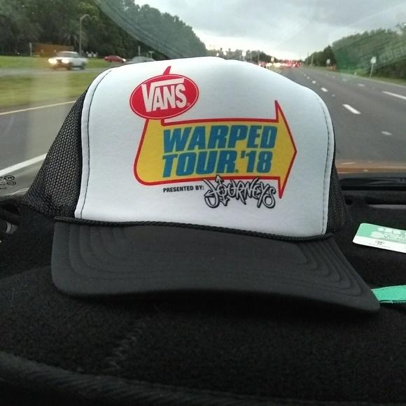 Vans Warped Tour 2018 Last Tour Hat Trucker 210d4a6e9821